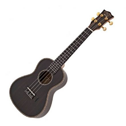 Snail UKC-E498 Ebony Concert Ukulele with Gig-bag